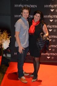 Ninna Engberg med son