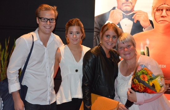 Anki Larsson med sällskap