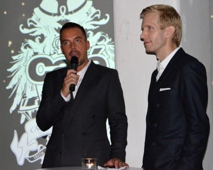 Daniel Lindsröm & Jens Stenberg