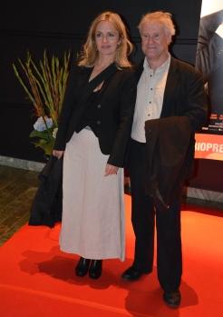 Jacob Nordenson med Pia Halvorsen