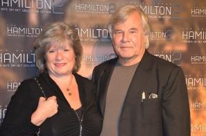 Jan Guillou med fru