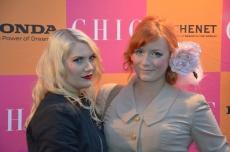 Elsa Billgren med Louise Sundell
