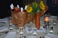 Reserverat bord för skådespelarna