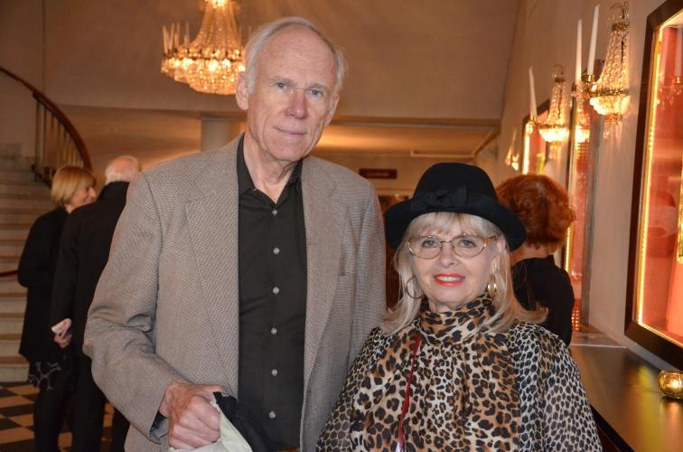 Margareta Sjödin med Bengt Hellsten