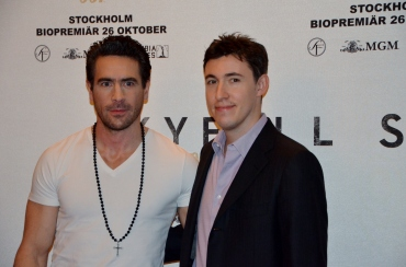 Ola Rapace & filmproducent