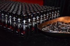 Coca Cola Zero med bondtema