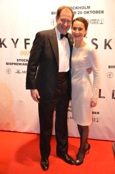 USA´s ambassadörspar Mark Brzezinski med fru