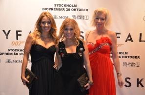Pernilla Wahlgren med sällskap