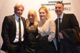 Björn Borg med fru och sällskap