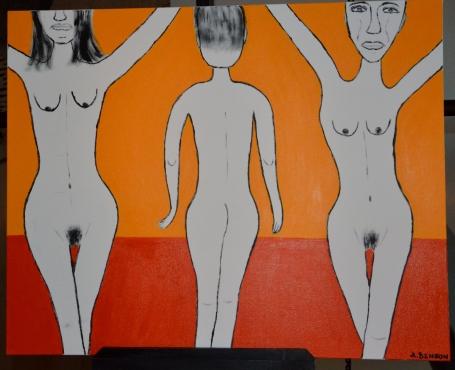 Anna Benson målning