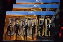 James Bond 50 år på Blu Ray