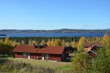 Utsikt mot Siljan sjö