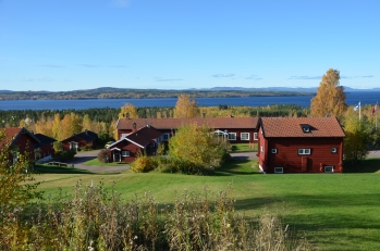 Utsikten mot Siljan sjö