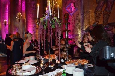 Dessertbordet i Gyllene salen