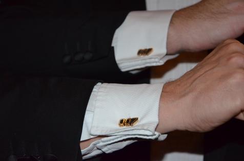 007 manschettknappar ifrån 60-talet