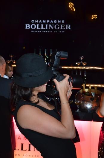 Fotograf med hatt