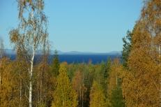 Höstutsikt mot Siljan sjö