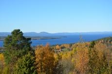 Utsikt på Siljan sjö