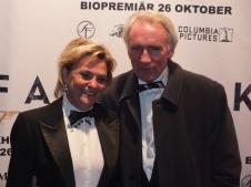 SVT:s Eva Hamilton med man
