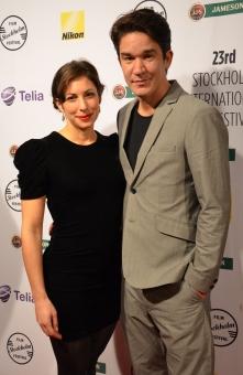 Daniel Espinosa med fru Nina