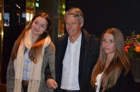 Jens Orback med sällskap