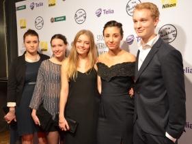 Nermina Lukac, Sofia Karemyr, Josefine Asplund, Madeleine Martin & Björn Gustafsson