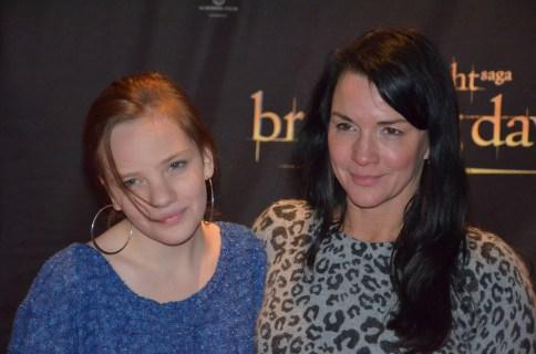 Sofia Wistam med dotter