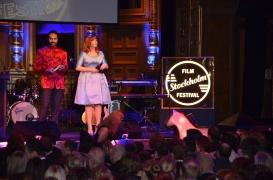 Elsa Billgren på scen