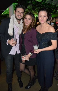 Madeleine Martin med vänner