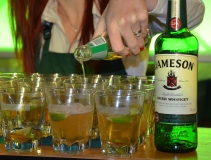 Jameson whiskey för filmfolk