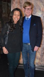 Sarina Stranicky och Göran Alfredsson