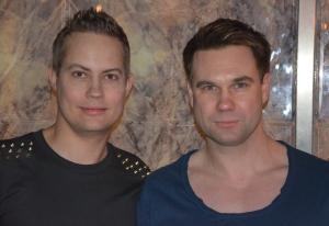 Henrik Alsterdal och Anders Pihlblad