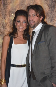 Nicole Nordin och Peter Forsberg