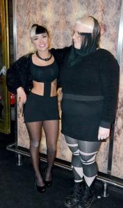 Jasmine Kara och Sara Arnesén
