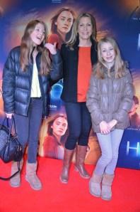 Zoe Sjöborg, Jenny Alversjö och dottern Olivia