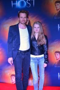 Christopher Wollter med dottern Tilde