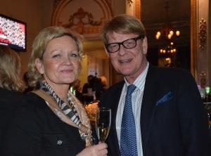 Göran Alfredsson med sällskap