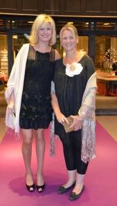 Trudie Cox och Annica Cavalcante