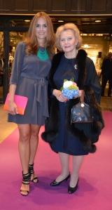 Erica Wigge och Marianne Bernadotte