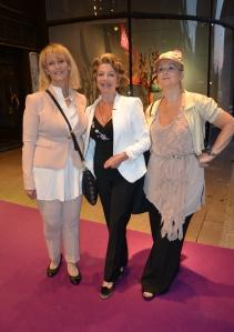 Marie Bonnier, Yvonne Ekdahl och Agneta Igell