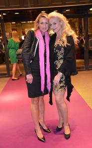 Anna Filruzi och Johanna Lind Clausen