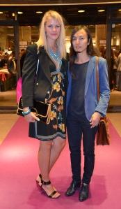 Angelica Hellgren och Naim Josefi