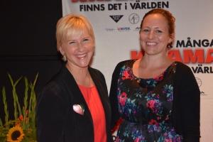 Margot Wallström & sällskap
