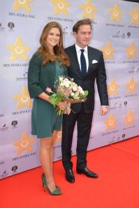 H.K.H. Prinsessan Madeleine och Herr Christopher O'Neill
