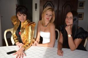 Sofia Persson & Darya Shanchuk.& Beba Jonsson
