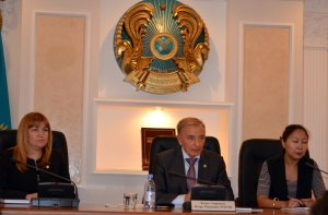Igor Rogov at the The Supreme court and the Constitutional Council