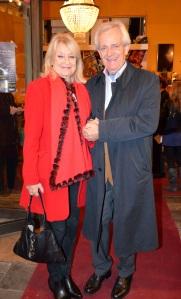 Alexandra Charles med Bengt von Hofsten