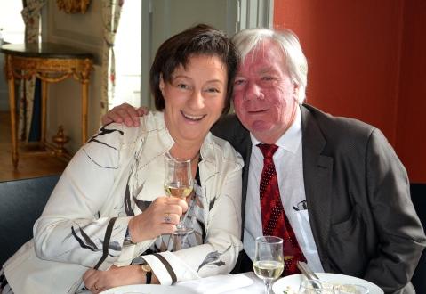 En gratulationsskål från Hovsångerskan Lena Nordin och Michael Paasche.