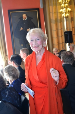 """Skådespelerskan Margareta Byström framförde """"Den första gång Du såg mig, då såg jag inte Dig"""""""