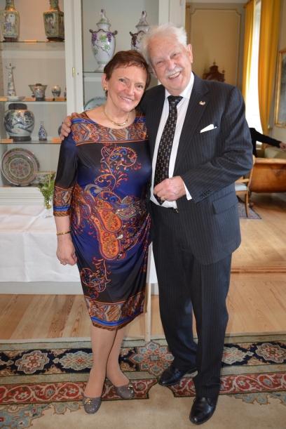 En gratulationskram från Slovakiska Marcella Schatzl.